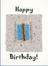 Handmade cards for Birthdays - Kingfisher