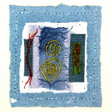 Celtic Handmade card - Woad Dreaming
