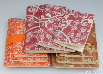 Handmade Paper Notebooks - set of 3