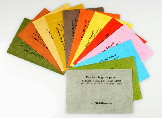 handmade paper sample and swatch packs