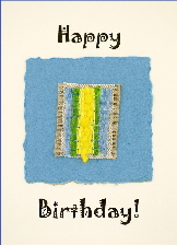 Handmade Birthday cards -Macaw