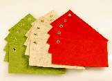 Handmade paper gift tags