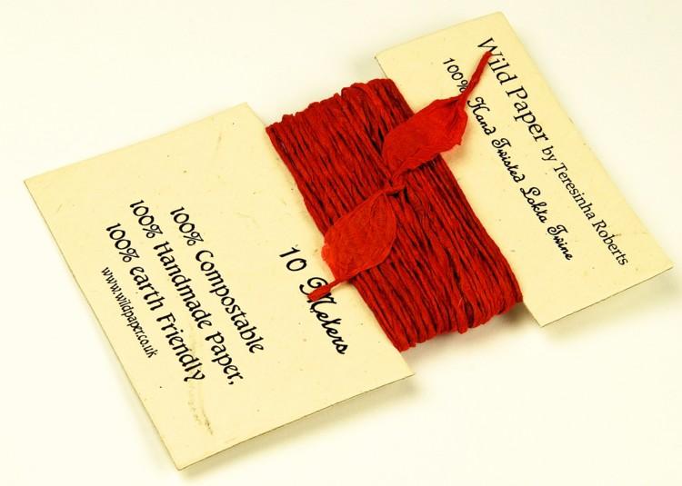 handmade-lokta-paper-string-red-0243